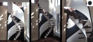 Dokončené schodiště