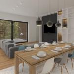 Obývací pokoj 2. varianta